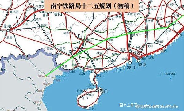 金城江至南宁铁路有望下半年开工-红豆社区-湛江至广州高铁2015,沪图片
