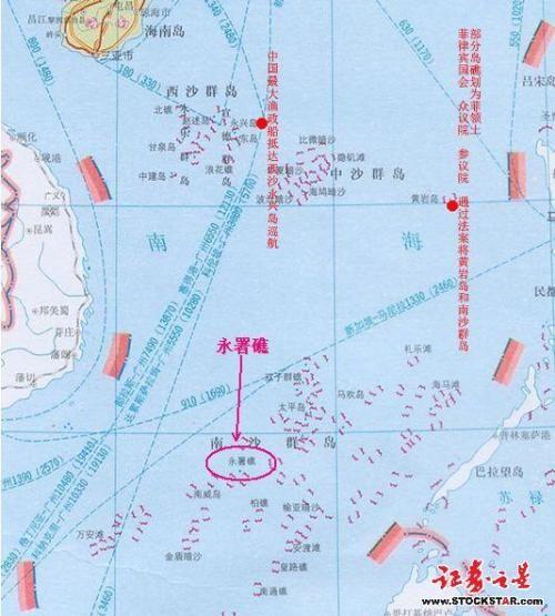 永暑礁填海规划图,永暑礁填海最新消息,南沙永暑礁填海工程 2