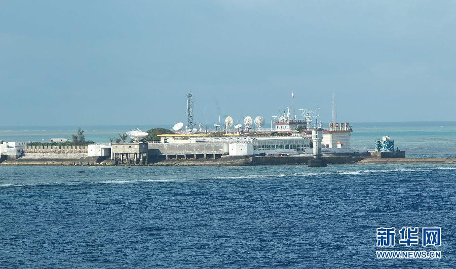 永暑礁填海规划图,永暑礁填海最新消息,南沙永暑礁填海工程 4