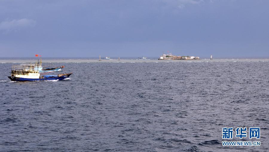 永暑礁建设规划图,永暑礁人工岛多大,2014永暑礁最新消息 5