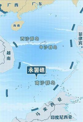 永暑礁建设规划图,永暑礁人工岛多大,2014永暑礁最新消息 3