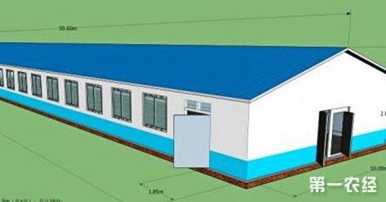 小型养猪场设计图, 标准化养猪场设计图